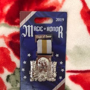 A limited edition magic of honor Disney pin